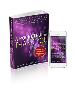 A pocketfull of thank you book & MP3 694px